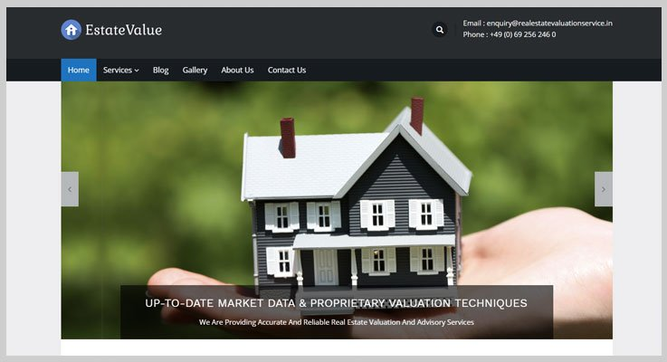 estatevalue real estate WordPress themes