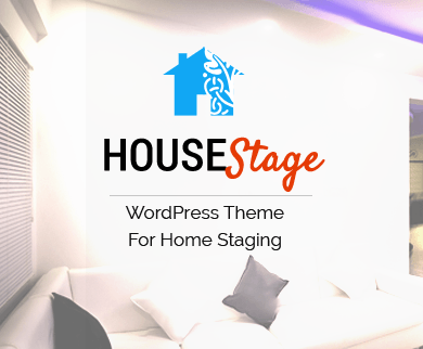 HouseStage - Home Staging WordPress Theme