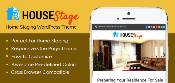 HouseStage – Home Staging Business WordPress Theme