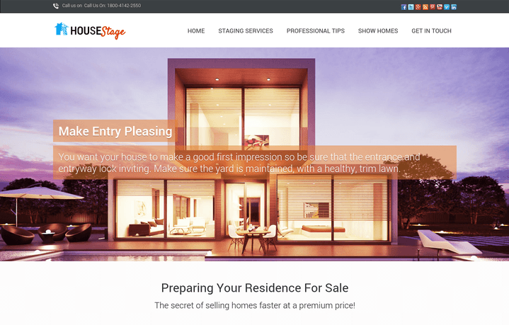 house stage wp theme