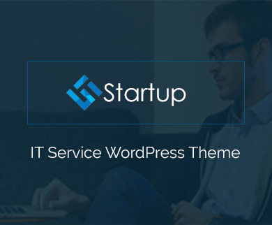 Startup - IT Service & Corporate WordPress Theme