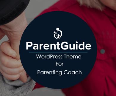 ParentGuide - Parent Coaching WordPress Theme