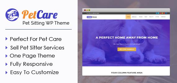 Pet Sitting WordPress Theme