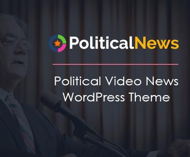 Political News - Political Video News WordPress Theme