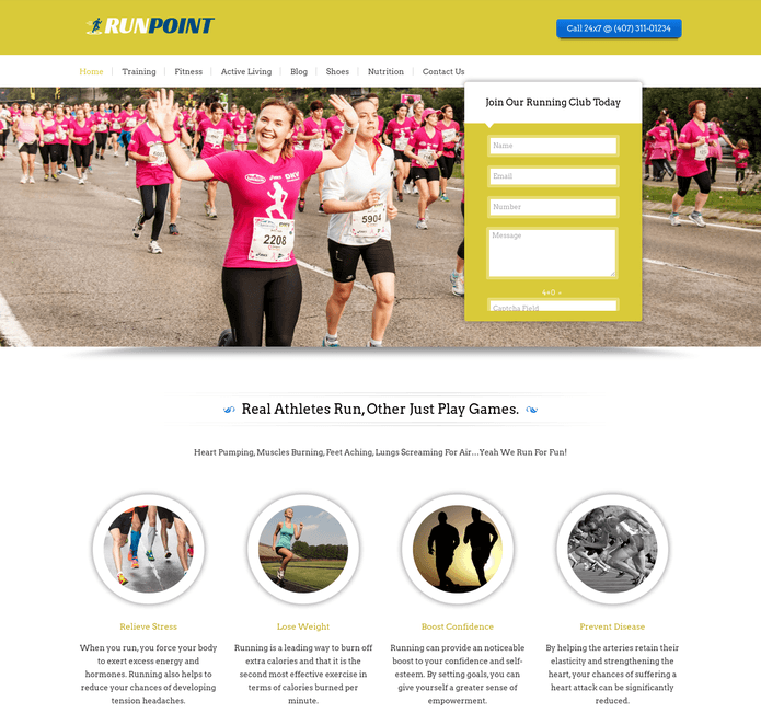 run point wp theme