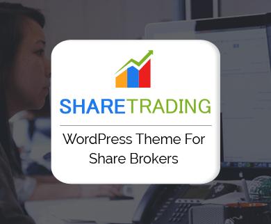 ShareTrading - Share Brokerage Firm WordPress Theme