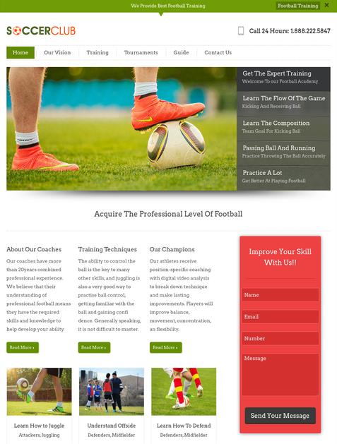 40+ Best Free Sports WordPress Themes 2018 | InkThemes
