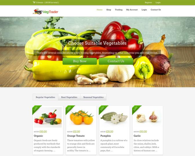 veg trader wp theme