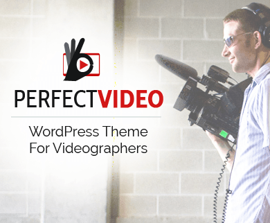 PerfectVideo - Videographer WordPress Theme