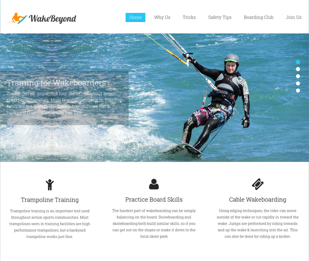 wake beyond wp theme