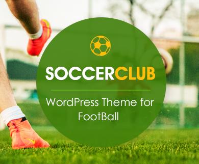 SoccerClub - WordPress Football Theme
