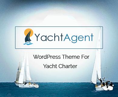 YachtAgent - Yacht Charter WordPress Theme