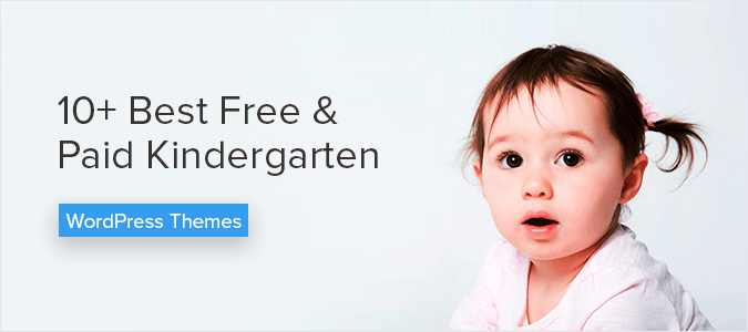 10+ Best Free & Paid Kindergarten