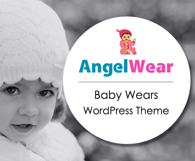 AngelWears - Baby & Kids Products Online Store WordPress Theme