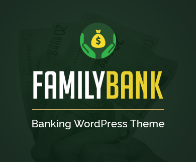 FamilyBank - Banking & Accounting Corporate WordPress Theme
