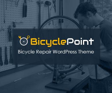 BicyclePoint - Bicycle Repair WordPress Theme