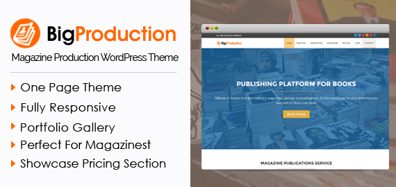 BigProduction WordPress Theme
