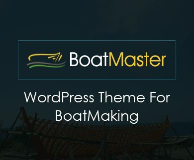 BoatMaster - Boat & Sail Making Industry WordPress Theme