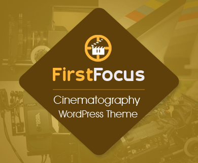FirstFocus - Cinematography WordPress Theme