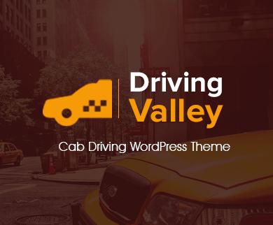 Driving Valley - Cab Driving WordPress Theme