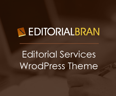 EditorialBran - Editorial And Writing WordPress Theme