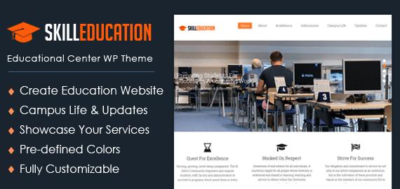 Educational Center WordPress Theme