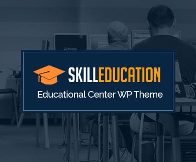 Skill Education - Online Educational Center WordPress Theme