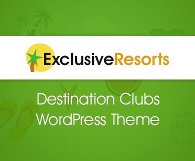 ExclusiveResorts - Destination Clubbing WordPress Theme