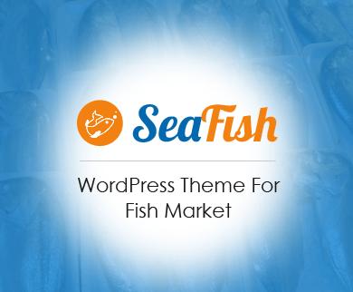 SeaFish - Fish Market WordPress Theme