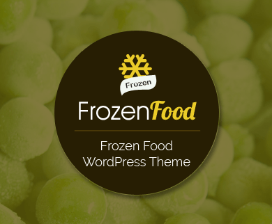 FrozenFood - Frozen Food Manufacturer & Supplier WordPress Theme