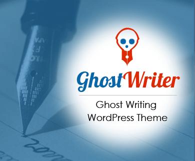 GhostWriter - Ghost Writing & Editing WordPress Theme