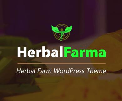 HerbalFarma - Herbal Farming WordPress Theme