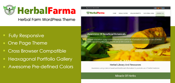 Herbal Farm WordPress Theme