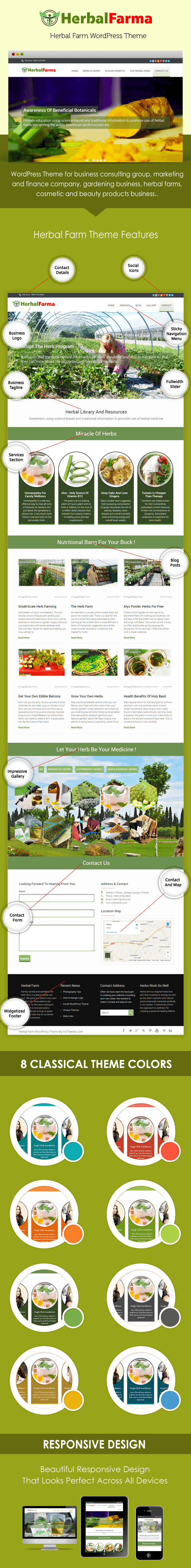 HerbalFarma WordPress Theme