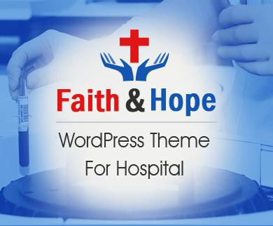 Faith And Hope - Medical Hospital WordPress Theme