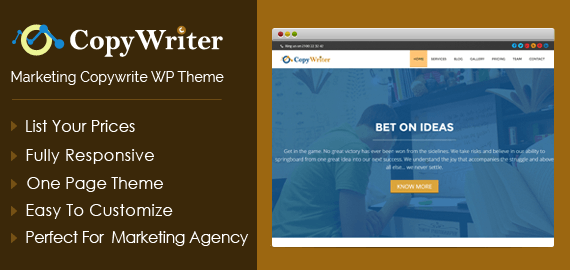 Marketing & Advertising Agency WordPress Theme | InkThemes