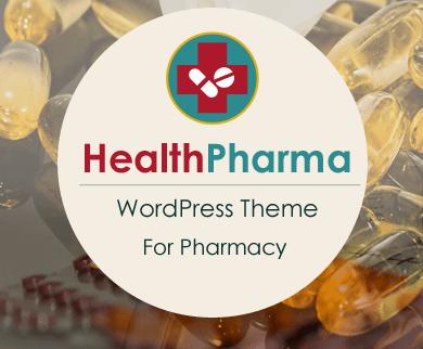 HealthPharma - Pharmacy WordPress Theme