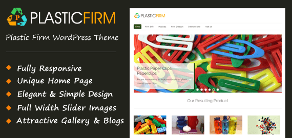 PlasticFirm WordPress Theme