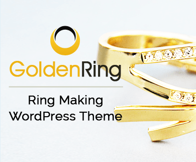 GoldenRing - Ring Making WordPress Theme