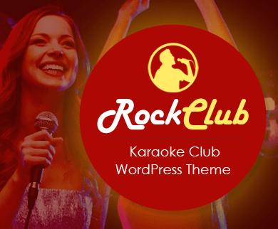 RockClub - Karaoke & Orchestra Club WordPress Theme