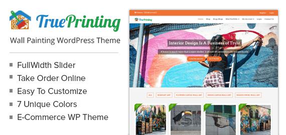 Wall Painting WordPress Theme