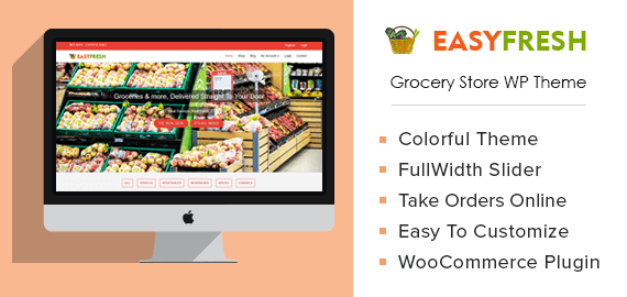 EasyFresh – Grocery Store WordPress Theme