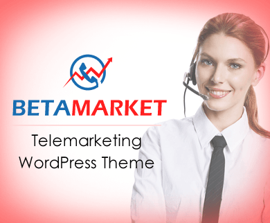 BetaMarket - Telemarketing WordPress Theme