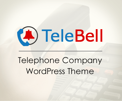 TeleBell - Telephone Company WordPress Theme