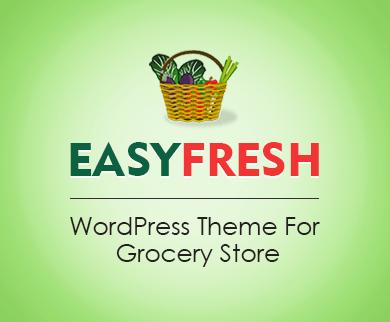 EasyFresh - Grocery Store WordPress Theme
