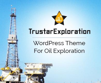 Trustar Exploration - Oil Exploration WordPress Theme