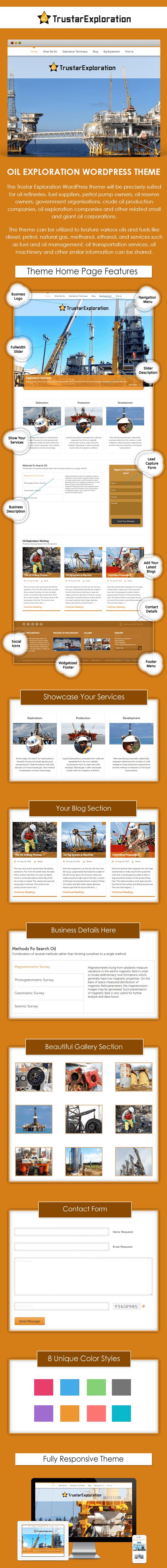 Trustar Exploration WordPress Theme