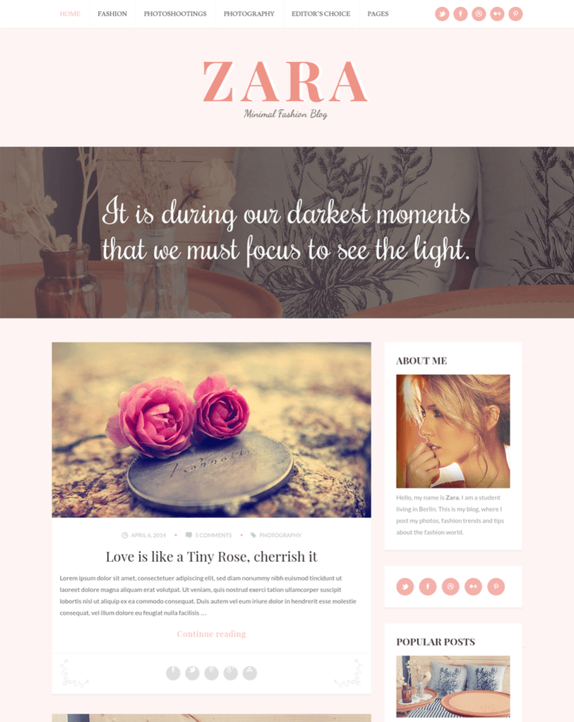 ZARA-WordPress-Theme-For-Fashion-Bloggers