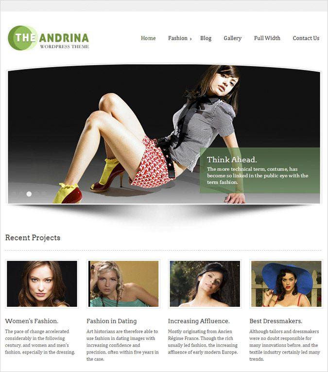 andrina wp theme