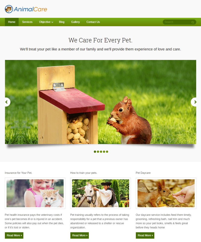 animal-care-wordpress-pets-the